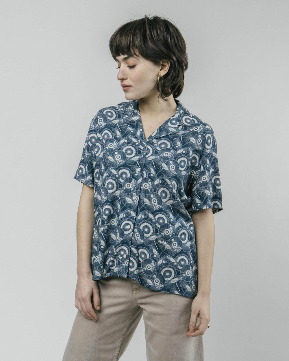 The osaka parasol aloha blouse - Brava Fabrics