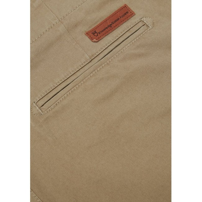 Chino beige en coton bio - chuck - Knowledge Cotton Apparel num 3