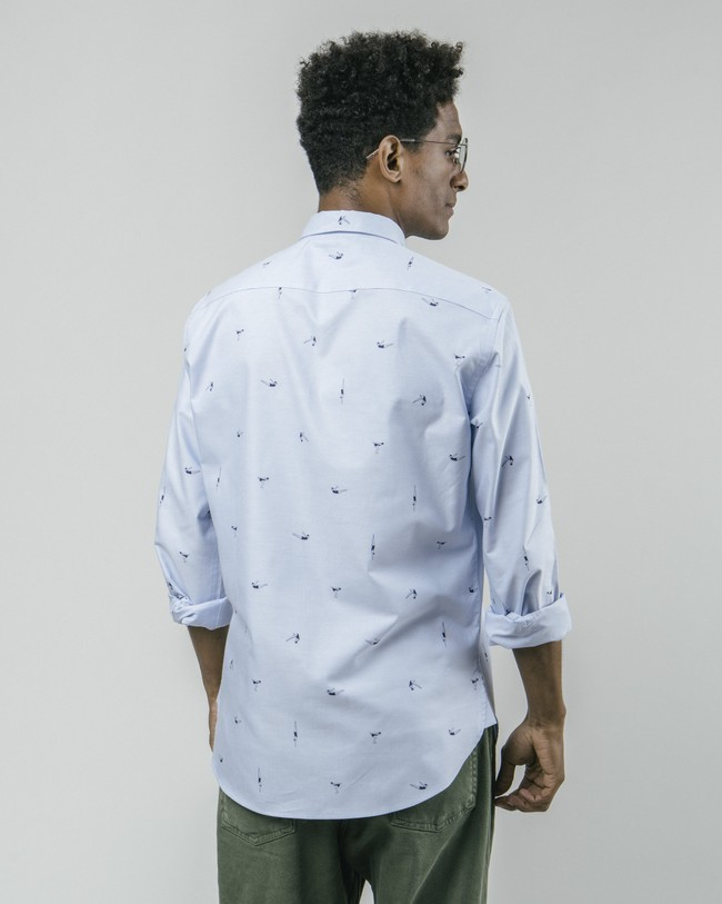 Vintage swimmer printed shirt - Brava Fabrics num 6