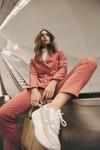 Pantalon tailleur casablanca rose brique - 17h10 - 5