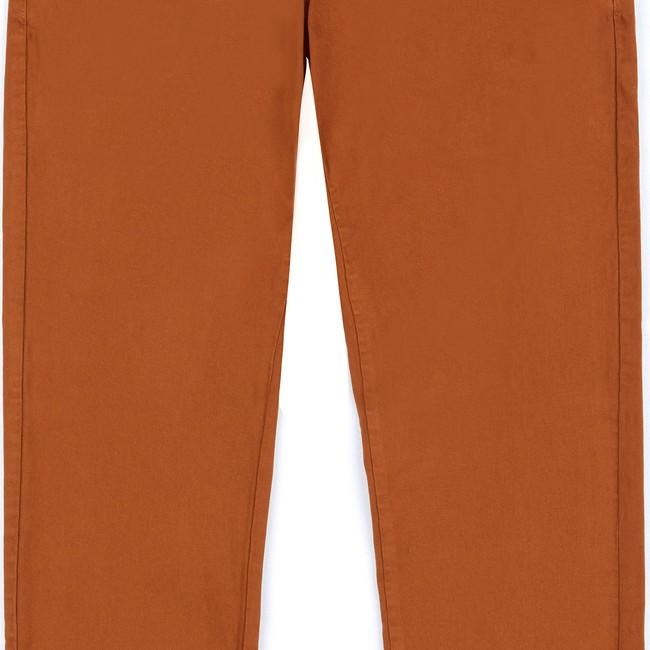 Pantalon en coton bio caramel tiago - Bask in the Sun num 2