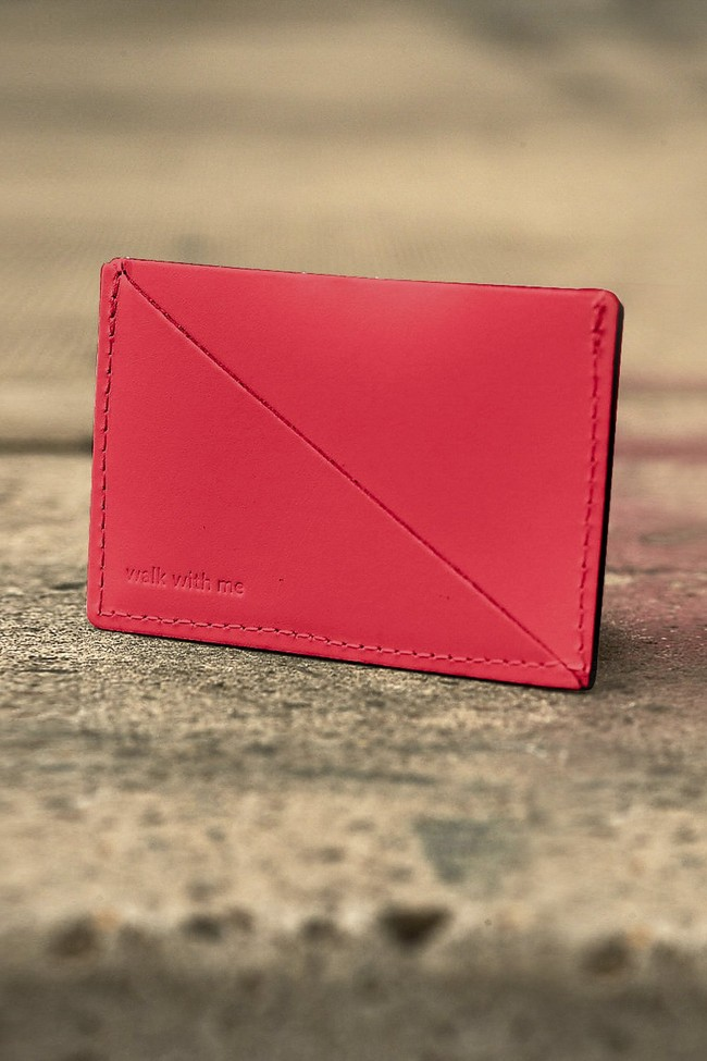 Triangle wallet - Walk with me num 1