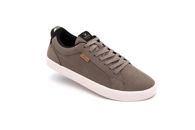 Chaussures recyclées cannon brindle homme - Saola