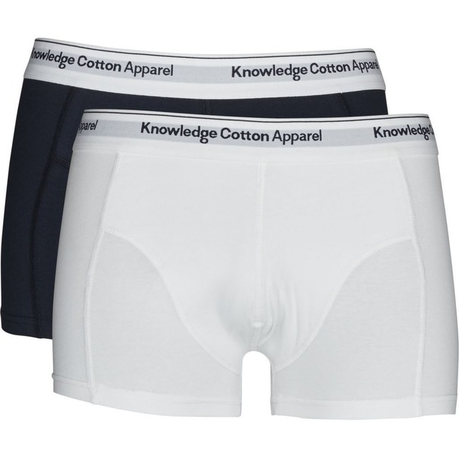Pack boxers unis en coton bio - Knowledge Cotton Apparel