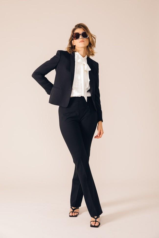 Pantalon tailleur oslo noir - 17h10 num 4