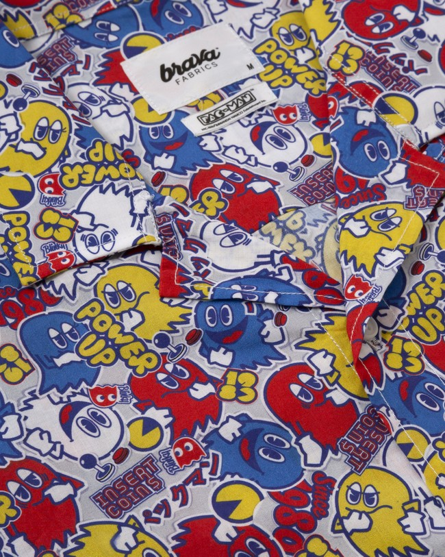 Power up pac-man™ x brava   aloha shirt - Brava Fabrics num 2