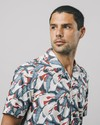 Crane for luck aloha shirt - Brava Fabrics - 5