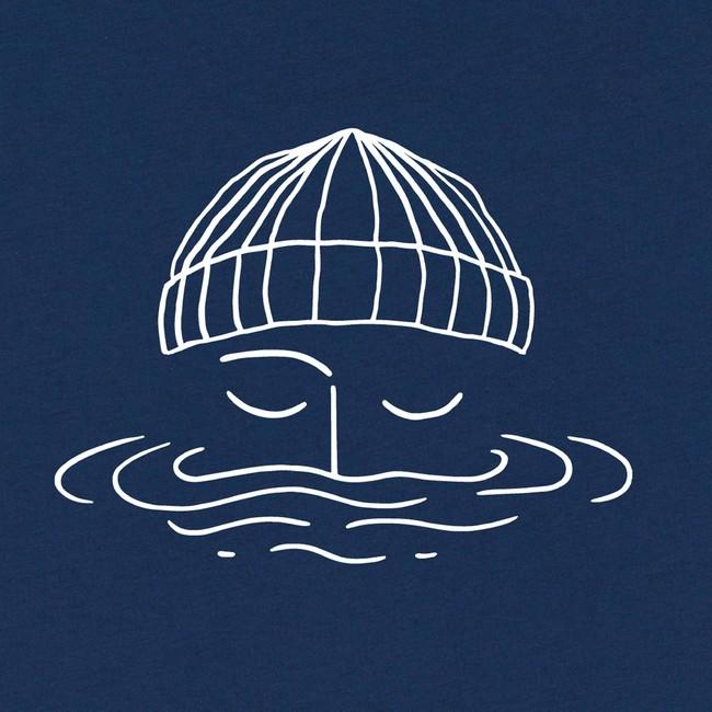 T-shirt en coton bio night blue sailor - Bask in the Sun num 2