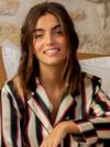 Chemise de pyjama adéle // rayure - Bagarreuse - 4