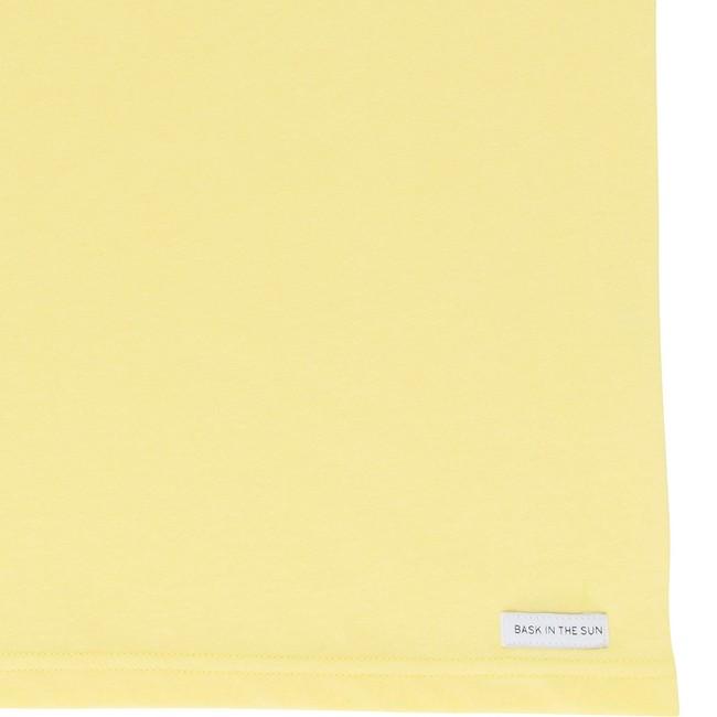T-shirt en coton bio yellow baztan - Bask in the Sun num 3