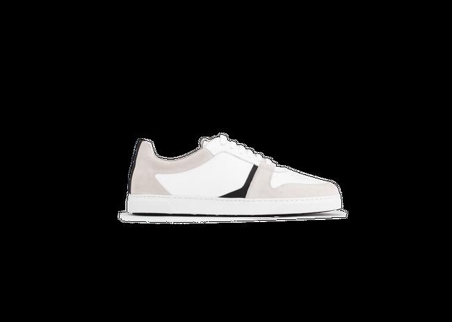 Chaussure en glencoe cuir blanc / suède off-white - Oth num 3