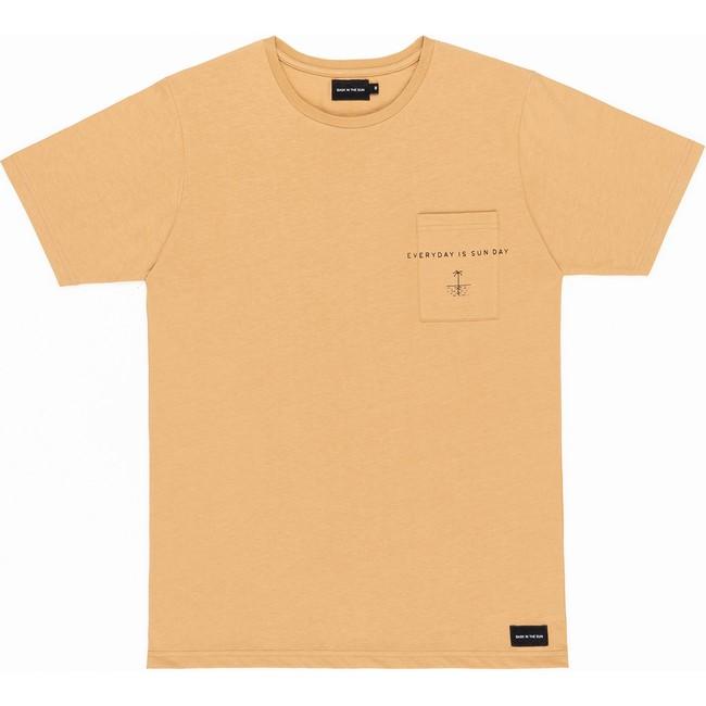 T-shirt en coton bio sand sun day - Bask in the Sun