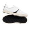 Chaussure en glencoe cuir blanc - O.T.A - 1