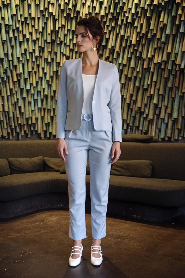 Pantalon tailleur casablanca bleu pastel - 17h10