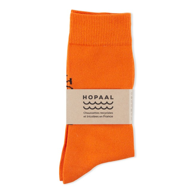 Chaussettes recyclées - ginger step - Hopaal
