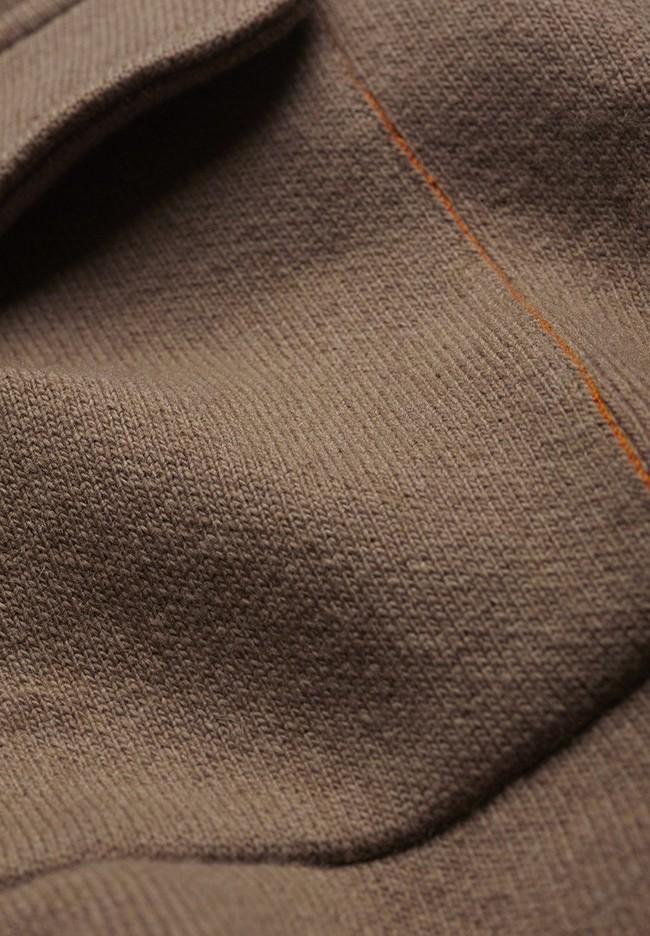 Veste marron en coton et laine bio  - alondraa - Armedangels num 4