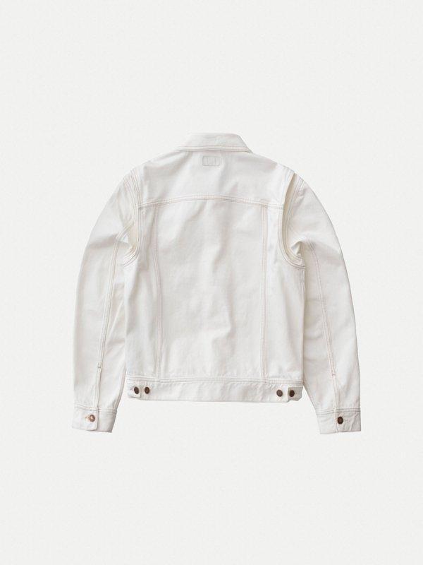 Veste en jean écru en coton bio - tommy - Nudie Jeans num 6