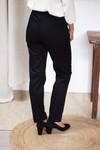 Le charmant - pantalon cigarette en coton noir - C. Bergamia - 2
