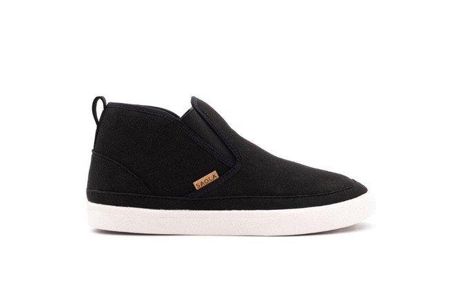 Chaussures recyclées tahoe black - Saola num 2