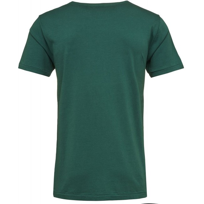 T-shirt vert en coton bio - Knowledge Cotton Apparel num 2