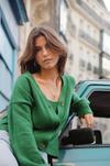 Cardigan darcy - lucky green - Andore Paris - 4