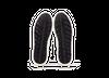 Chaussure en gravière cuir blanc / semelle off-white - Oth - 5
