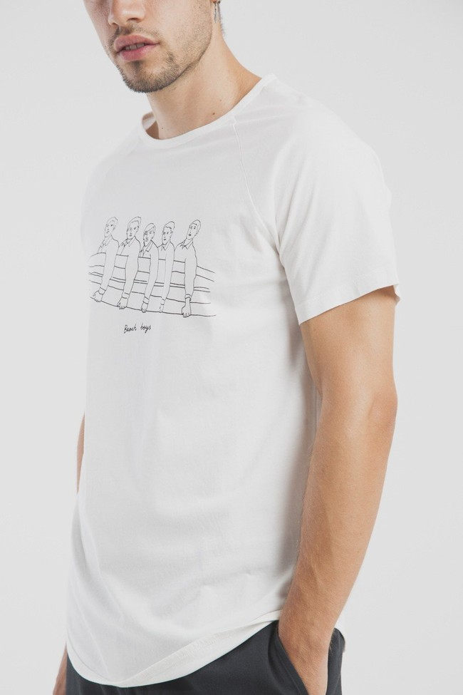 T-shirt en coton bio beach boys - Thinking Mu num 2
