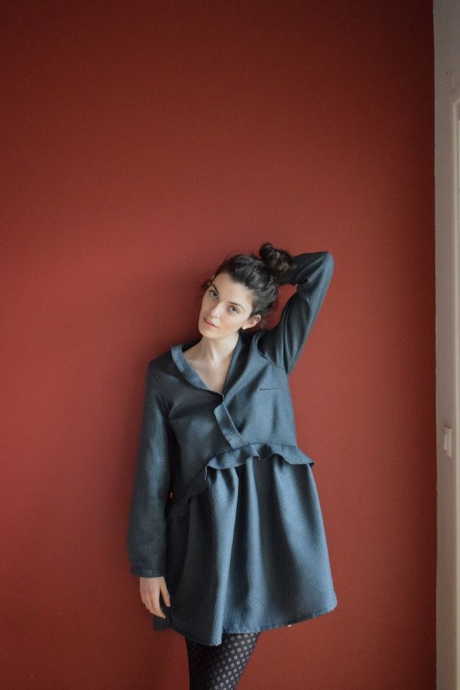 Robe lila - Alfa num 3