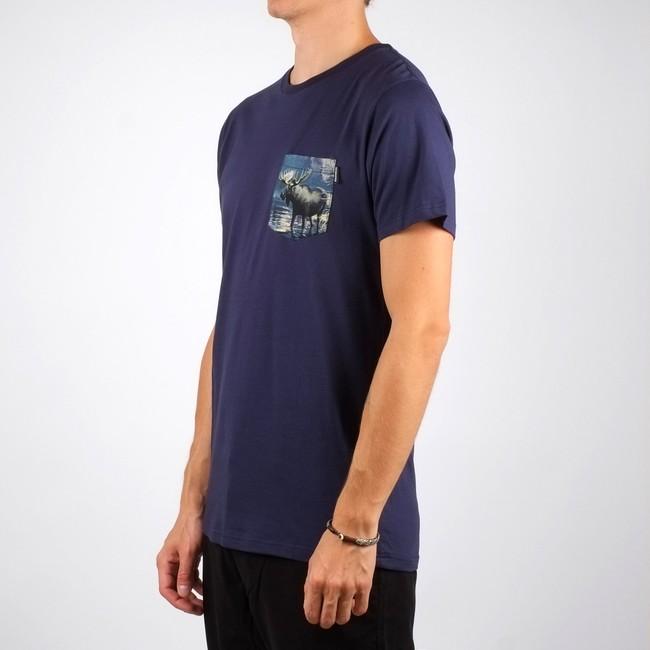T-shirt poche imprimée en coton bio - Dedicated num 2