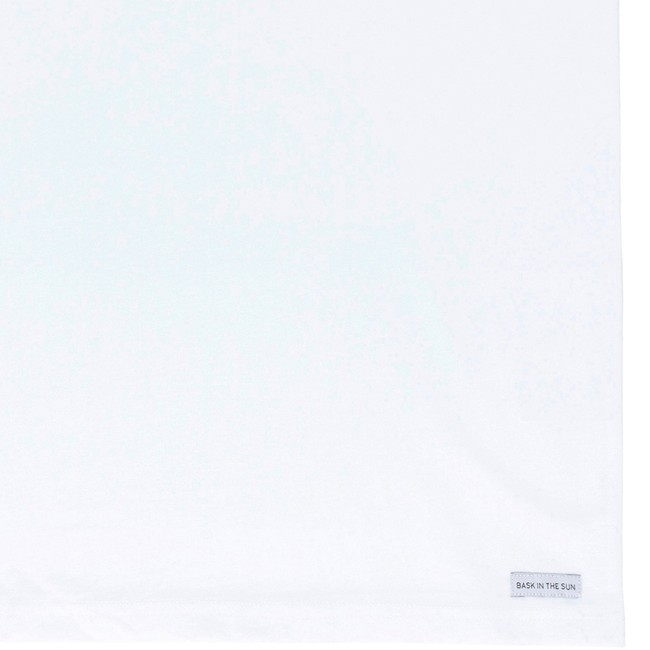 T-shirt en coton bio white on the road - Bask in the Sun num 3