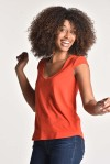 Top pénélope orange - Thelma Rose - 3