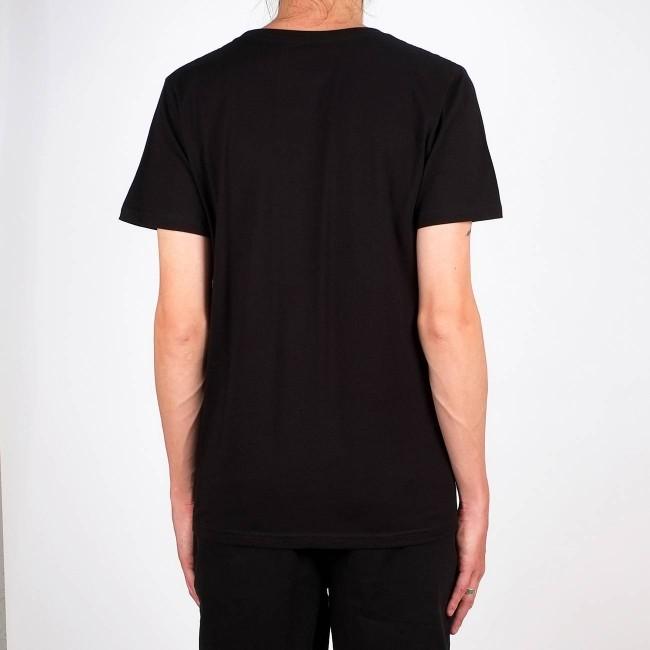 T-shirt noir en coton bio - stockholm - Dedicated num 2
