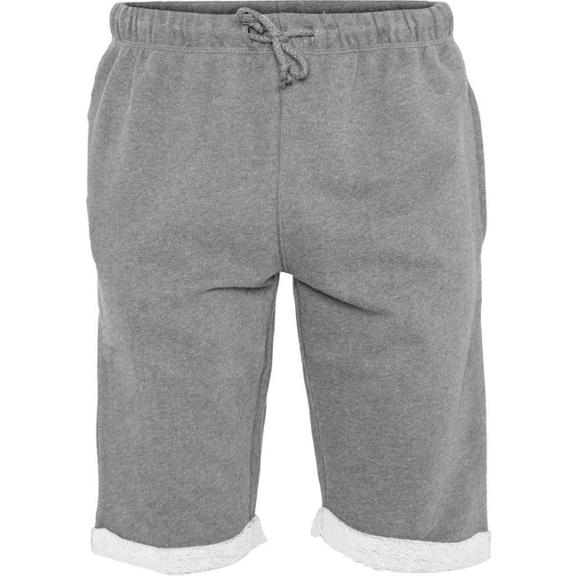 Short jogging gris en coton bio - Knowledge Cotton Apparel