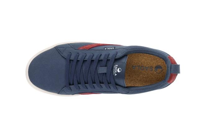 Chaussures recyclées cannon homme bleu - Saola num 3