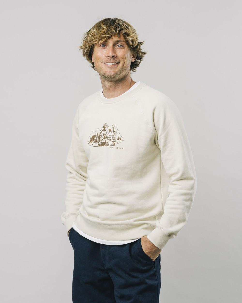 Good taste sweatshirt - Brava Fabrics