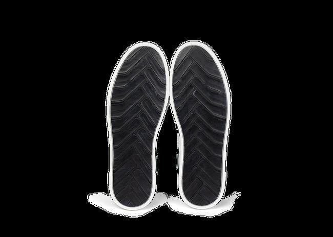Chaussure en glencoe cuir blanc / suède sapin - Oth num 4
