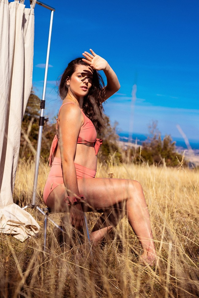 Piha Beach - le bas - kaki clair - Maline num 22