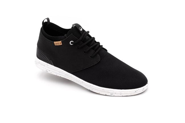 Chaussures recyclées semnoz homme noir - Saola
