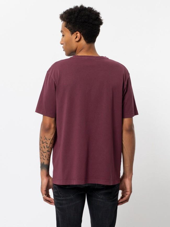 T-shirt ample figue en coton bio - uno njco circle - Nudie Jeans num 2