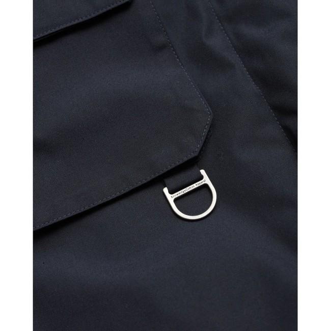 Parka marine en polyester recyclé - Knowledge Cotton Apparel num 4