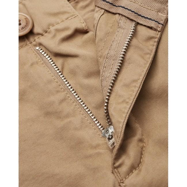 Chino droit camel en coton bio - chuck - Knowledge Cotton Apparel num 2