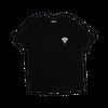 T-shirt noir en lyocell • éléphant argent - Omnia in uno - 3