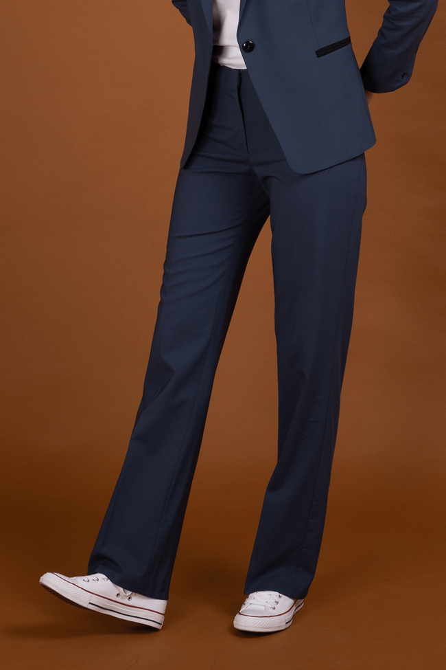 Pantalon tailleur berlin pétrole - 17h10