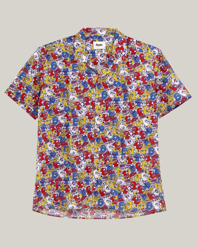 Power up pac-man™ x brava   aloha shirt - Brava Fabrics num 1