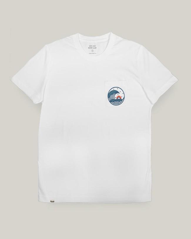 Japanese wave t-shirt - Brava Fabrics