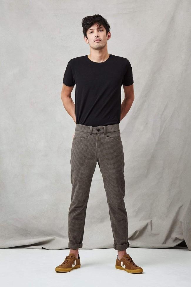 Pantalon homme tweed - Les Récupérables num 1