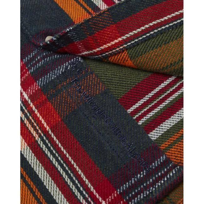 Chemise à carreaux twill en coton bio - Knowledge Cotton Apparel num 3