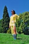 Cardigan darcy - happy yellow - Andore Paris - 2