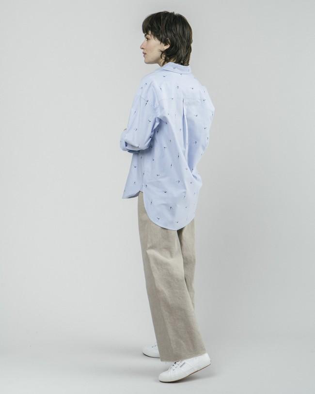 Vintage swimmer oversized blouse - Brava Fabrics num 7