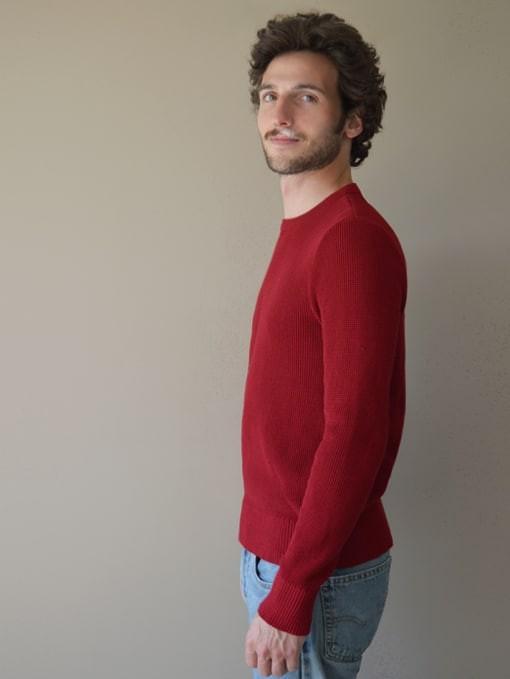 Le jacques rouge cerise - Au Juste num 3